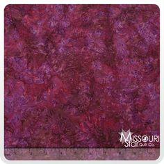 Malam Batiks Sumatra - Berry Flourish Yardage - Jinny Beyer - RJR Fabrics - Missouri Star Quilt Company