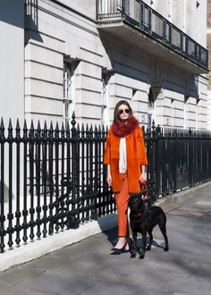 #AmandaWakeley's latest collections show #women how to #dressdown in #style. #Fashion #Casual #Orange
