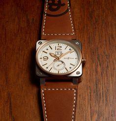 Nouvelle Bell & Ross BR03-90: une montre d'or et d'acier