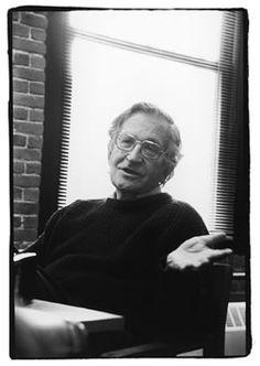 Noam Chomsky, American linguist, philosopher, cognitive scientist, historian, and activist.