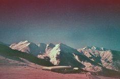 white mountains.