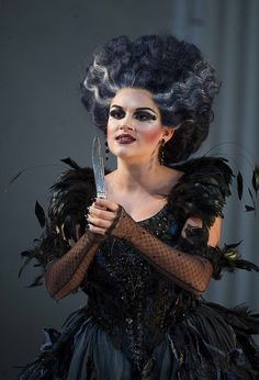 """Kathryn Lewek as Queen of the Night in English National Opera's """"The Magic Flute,"""" 2012"""