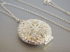 SALE Silver Locket Necklace - FREE UPGRADE from 16 to 30 inches long by VeraidaGifts on Etsy https://www.etsy.com/uk/listing/67028948/sale-silver-locket-necklace-free-upgrade