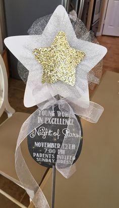 """Time to catch up on some blog stuff! We had our Young Women's in Excellence in November. Our theme was """"Night of Stars"""" - since our girls a..."""