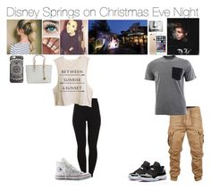 """""""Disney Springs on Christmas Eve Night~ The Hemmings"""" by luvtofashion ❤ liked on Polyvore featuring Pieces, Converse, G-Star Raw, Carhartt, Retrò, Disney and Michael Kors"""