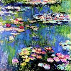Claude Monet - Water Lilies - 1916