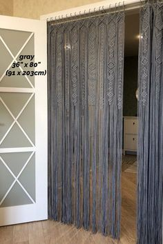 Crafts For Bedroom Large Macrame Curtain Macrame Wedding Arch Macrame Alter Macrame Design, Macrame Art, Macrame Projects, Macrame Knots, Macrame Curtain, Boho Curtains, Curtains On Wall, Beaded Door Curtains, Curtain Hanging
