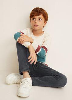 Regular-fit jeans Source by Jeans Jeans Fit, Denim Pants, Faded Jeans, Kids Dress Patterns, Young Cute Boys, Boy Models, Kids Fashion Boy, Boys Pants, Mango Fashion