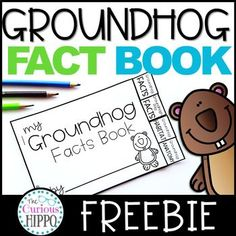 Groundhog Day Fact Book Freebie Free printable for Groundhog DayYou can find Teacher resources and more on our website.Groundhog Day Fact Book Freebie Free printable for Groundhog Day Kindergarten Groundhog Day, Groundhog Day Activities, First Grade Activities, First Grade Math, Kindergarten Activities, Classroom Activities, Second Grade, Holiday Activities, Grade 2