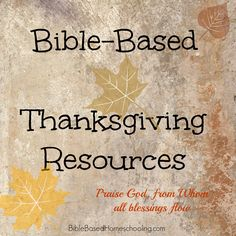 Bible based thanksgiving resources (for kids) Thanksgiving Stories, Thanksgiving Preschool, Christian Preschool, Christian Kids, Bible Lessons, Youth Lessons, Object Lessons, Sunday School Crafts, Bible For Kids