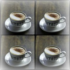 On the 4th day of Christmas my true love sent to me 4 cappuccinos!