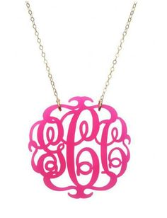 I'd love to do this with my initials...sale at 3 hip chicks