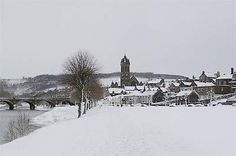 Town Impressions | Royal Burgh of Peebles in the snow, what a beautiful sight.