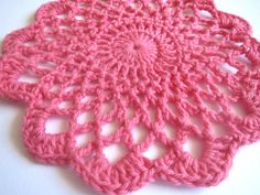 Ravelry: Shaded Pinks Doily by Maggie Weldon
