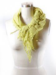 Fancy braid scarf