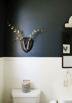 EcoDeer for bathroom decor Chris Loves Julia, Plank Walls, Wood Planks, Sweet Home, Design Inspiration, Interior, Casual, Home Decor, Vsco