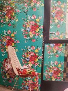 Dutch Painters Green 341046 - Wallpaper
