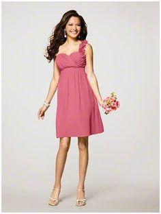 #AlfredAngelo #Bridesmaid Style 7138 in #Coral