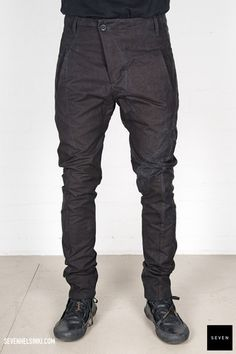 Boris Bidjan Saberi BBS P11-F15302 653 € | Seven Shop Parachute Pants, Ready To Wear, Fall Winter, Vest, Mens Fashion, Jeans, How To Wear, Shopping, Clothes
