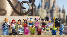 A partir do dia 1 de maio você poderá comprar miniaturas Lego de 18 personagens da Disney. A nova coleção conta com Mickey, Minnie, Pato Donald, Margarida, Bela Adormecida, Peter Pan, Capitão Gancho, Alice, A Pequena Sereia, Malévola, Sr. Incrível, Aladim e outros.