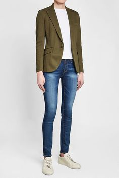 POLO RALPH LAUREN - Blazer with Cotton | STYLEBOP