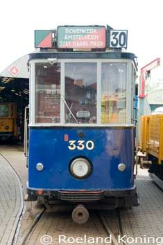 Old tram Amsterdam. I have drove in it many times, a long time ago ;-)