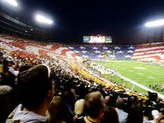 Lambeau Field. USA pride
