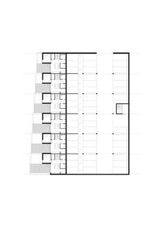 Sustainable Town Houses / C.F.Møller Architects,Level 1 Garage © C.F. Møller Architects