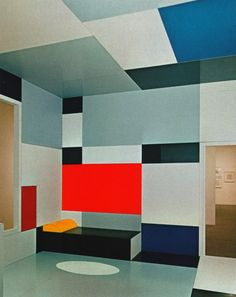 Piet Mondrian - Salon de Madame B., 1923