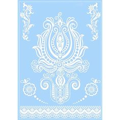 White Lace Henna Design Tattoo Elegant Body Art Temporary India Bridal Waterproof Tattoos Sticker *** Read more  at the image link. (This is an affiliate link and I receive a commission for the sales) #Makeup
