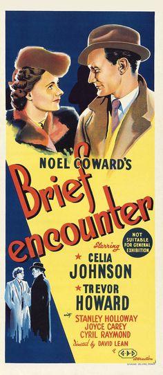 Celia #Johnson, Trevor #Howard - Brief Encounter, 1945 Noel #Coward