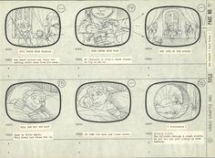 Rankin Bass' Hobbit Storyboard