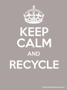 Re-use, recycle the new again mantra!