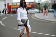 Nausheen Shah stuns in total white