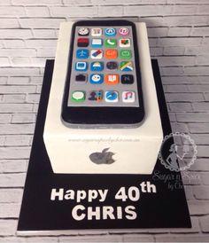 birthday cake iphones - Google Search