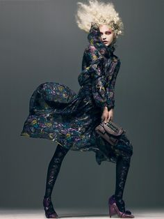 Morning Beauty | Sasha Pivovarova by Craig McDean | Fashion Gone Rogue: The Latest in Editorials and Campaigns