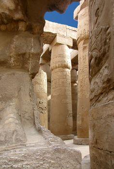 Luxor Temple. Egypt. www.victortravelblog.com/2012/09/10/egypt-luxor-temple/