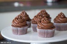 Schokoladencreme Grundrezept für Cupcakes oder Tortenfüllungen