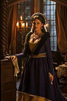 Úrsula Corberó as Margaret of Austria. Isabel, third season.