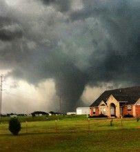 Huge tornado in OK