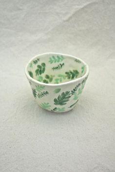 tiny leaf ceramic