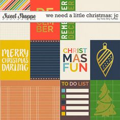 We Need A Little Christmas: Cards by Two Tiny Turtles