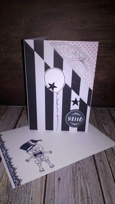 Gothic Card Stampin up Geburtstagskarte