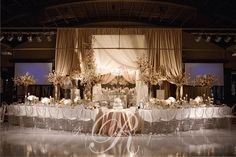 Stylish Weddings | Decor | Flowers | Head Tables | Rachel A. Clingen Wedding & Event Design