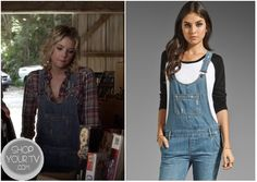 Shop Your Tv: Pretty Little Liars: Season 3 Episode 18 Hanna's Denim Overalls Pretty Little Liars Seasons, Chiffon Maxi Dress, Denim Overalls, Today Show, Season 3, Tv Shows, Pll, Pants, Outfits