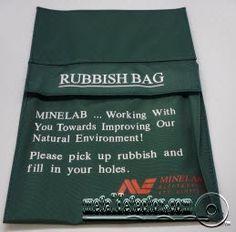 Minelab Rubbish Bag Waterproof Metal Detector, Types Of Metal, Bag, Purse, Bags, Pocket