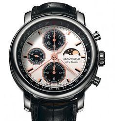 Aerowatch | Chronograph Renaissance-limited Edition | Edelstahl | Uhren-Datenbank watchtime.net
