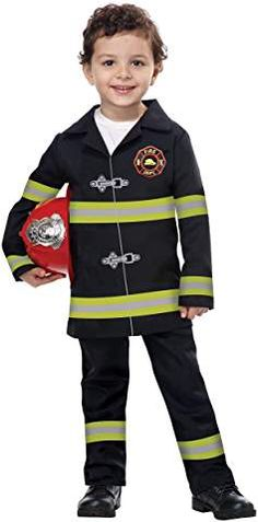 Amazon.com: JR. FIRE CHIEF costume California Costumes, Toddler Costumes, Motorcycle Jacket, Jr, Amazon, Kids, Jackets, Fashion, Young Children