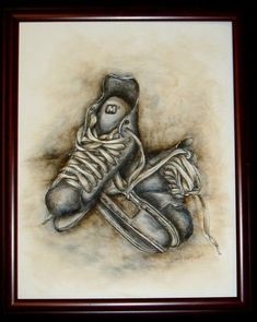 Hockey Time Pen and Ink ePacket - Wendy Fahey - PDF DOWNLOAD