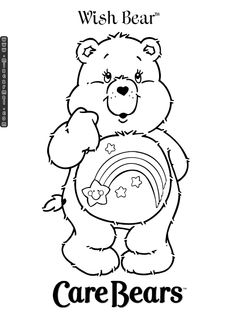care bears coloring - Google Search